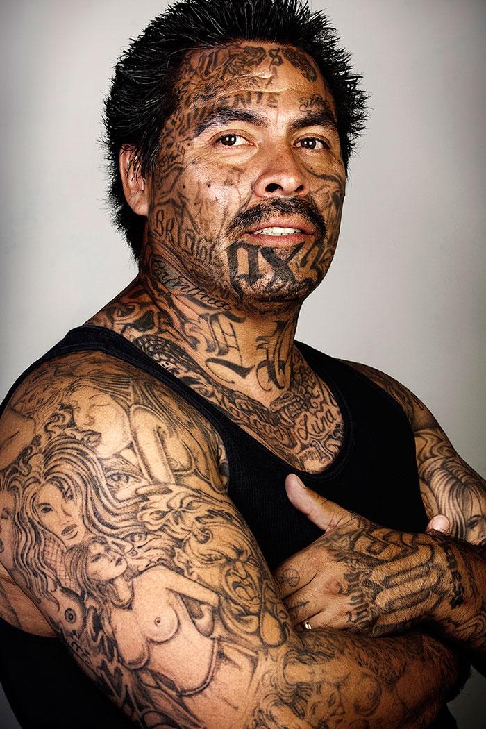«Когда я начал создавать Skin Deep, у меня была простая концепция: делать портреты сильно татуирован