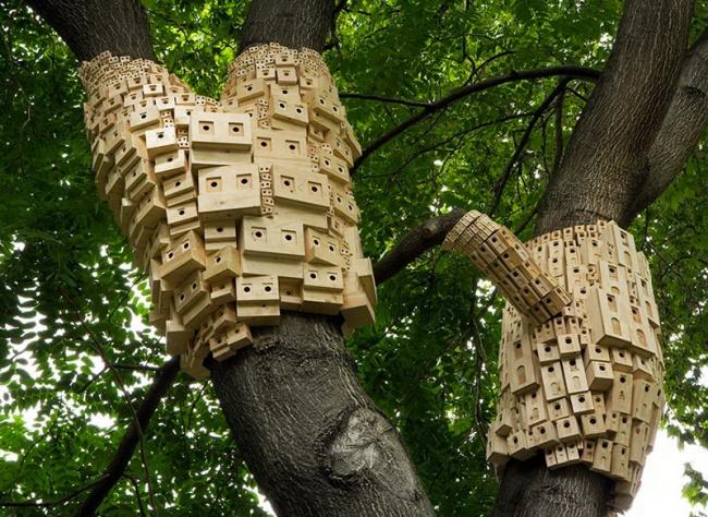 © London Fieldworks  Тандем London Fieldworks воплотил художественно-экологический проект, соо