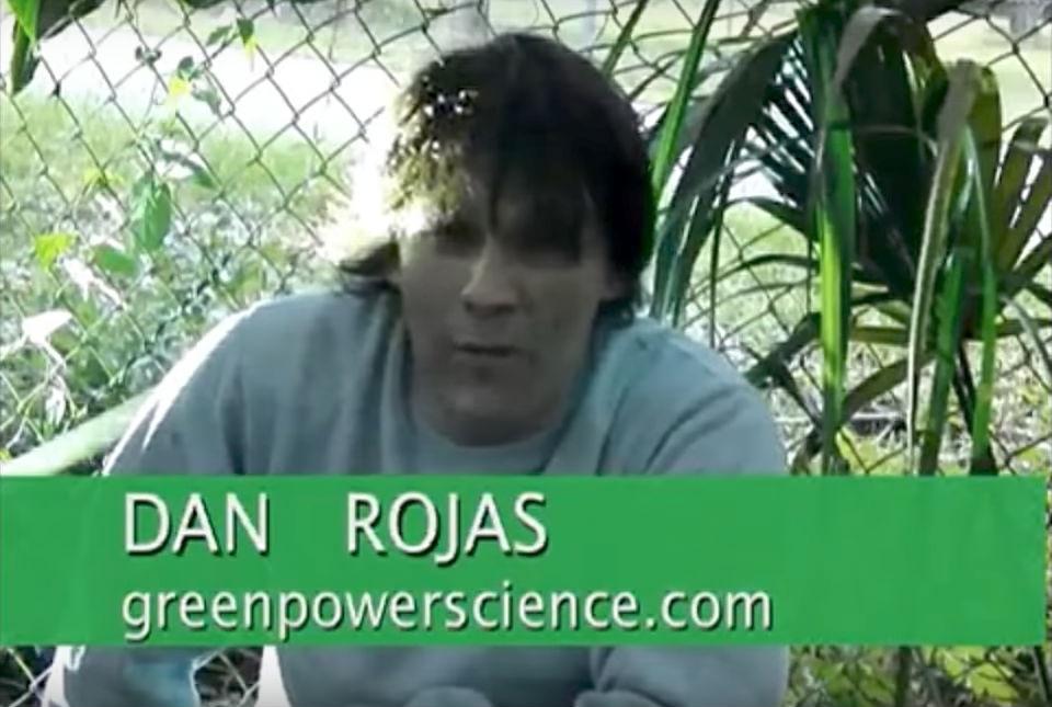 Дэн Рохас, ведущий YouTube-канала GreenPowerScience.