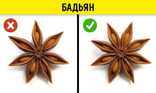 © depositphotos.com  Бадьян позапаху похож наанис, имеет красно-коричневый цвет. Лучиков, со