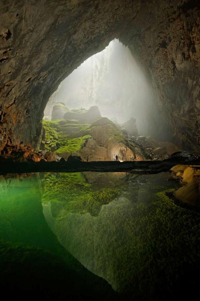 © wikimedia  Пещера была открыта в1991году, однако ееизучение началось в2009-м, аорганизо