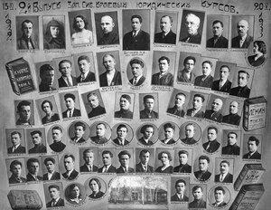 Судебно-прокурорское отделение Западно-Сибирского края юридических курсов. 2 выпуск. 1933