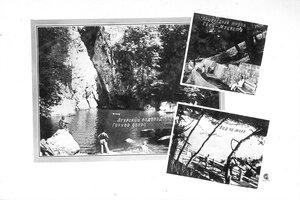 Пешеходная тропа Сочи-Мацеста. Агурский водопад. Горное озеро. Вид на море.