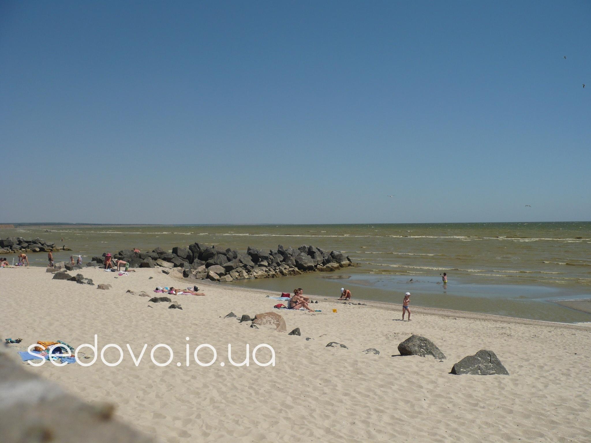 Седово пляж Металлург для маленьких детей