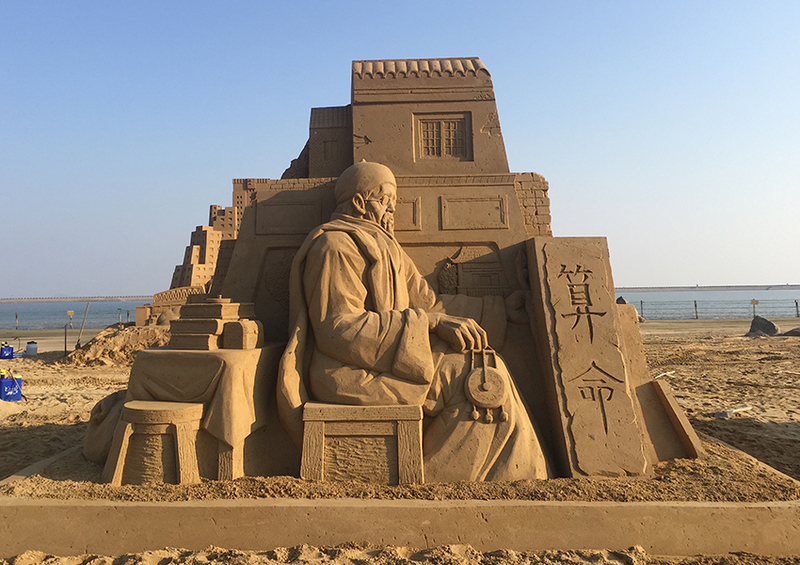 Astonishing Sand Sculptures by Toshihiko Hosaka (6 pics)