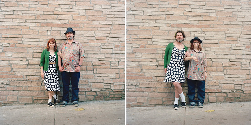 Switcheroo: Quirky Portraits of Couples Swapping Clothes by Hana Pesut (12 pics)