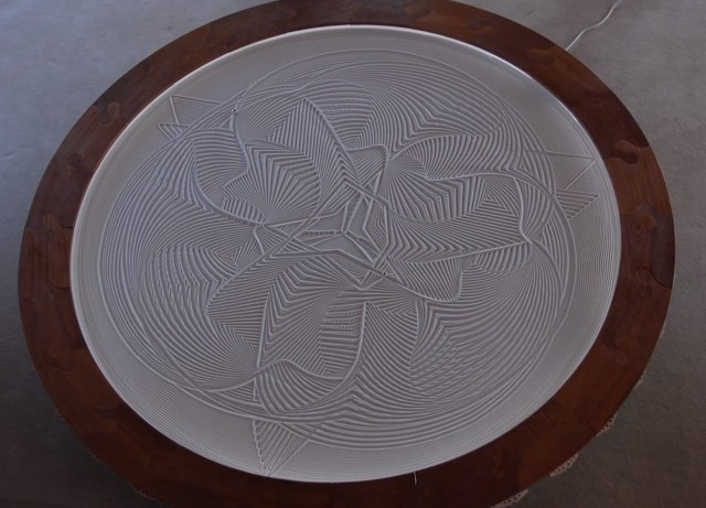 Kinetic Sand Drawing Machine