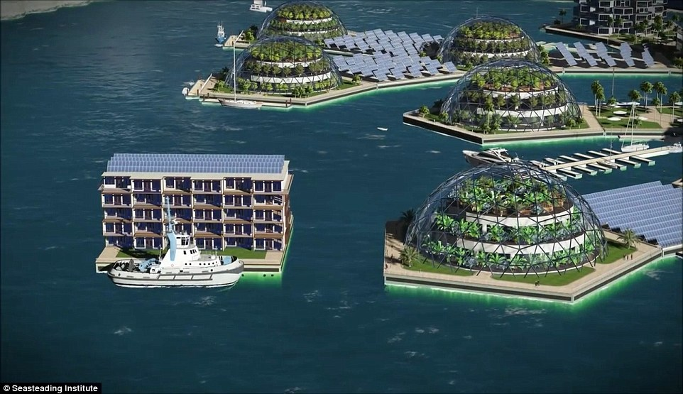 First Floating on Water Cities Project
