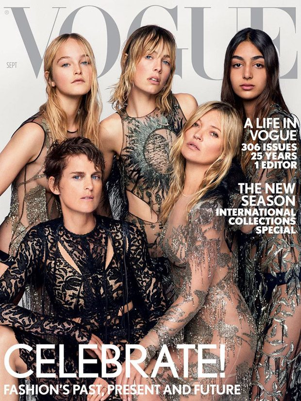 Alexandra Shulman Bids Goodbye to British Vogue with the September 2017 Issue