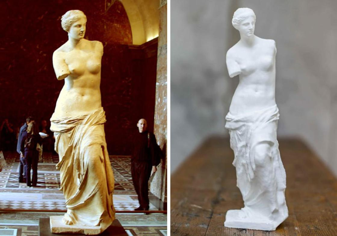 8000 famous sculptures available in 3D for your 3D printer! (19 pics)