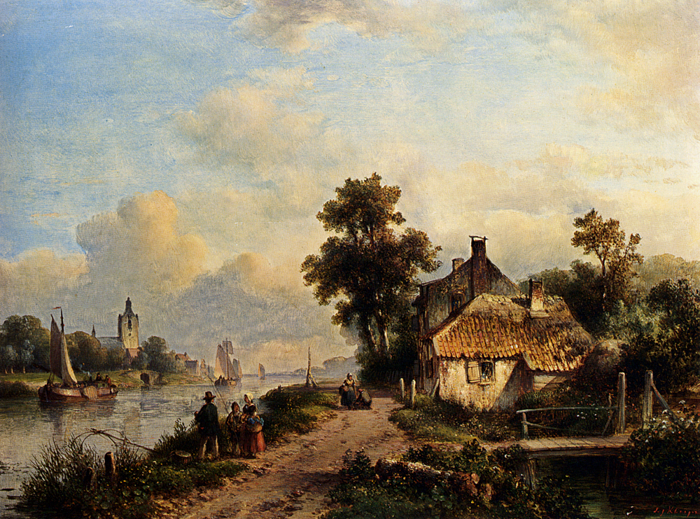 2  kleijn a_summer_landscape_with_figures_along_a_waterway-large.jpg