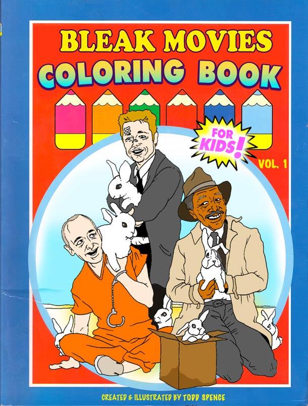 Les films d'horreur cultes version livre de coloriage… (7 pics)