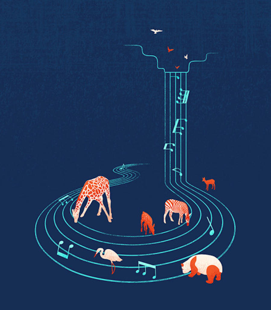 Nice Surreal Illustrations by Tang Yau Hoong