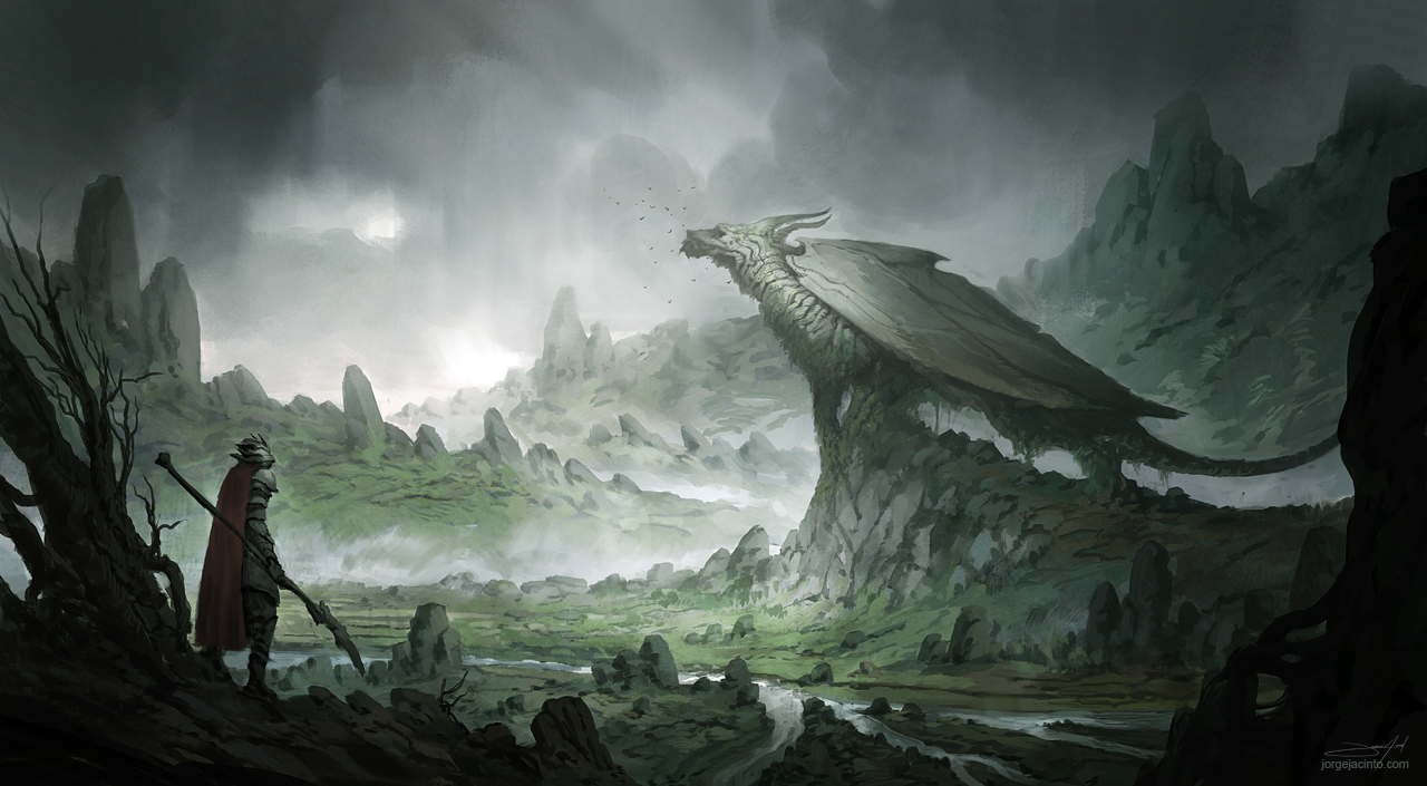 Astonishing Landscape Illustrations by Jorge Jacinto