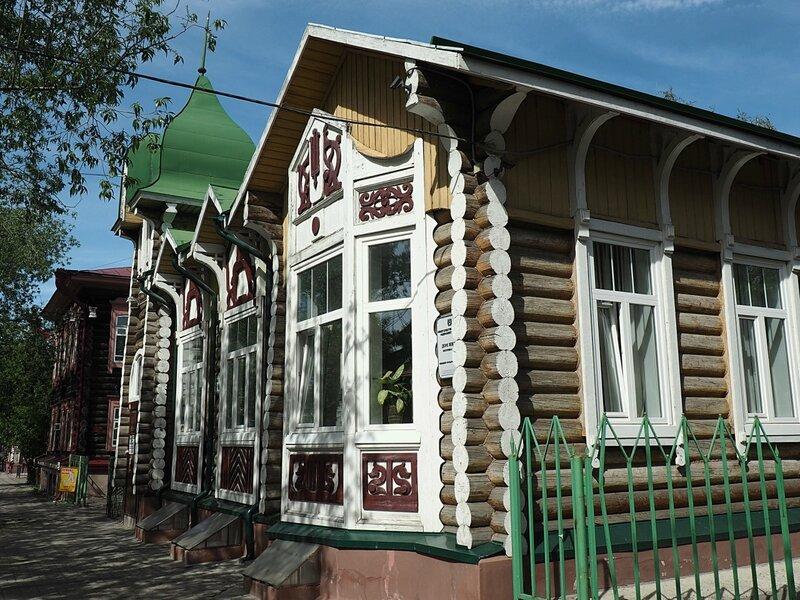 Томск, улица Гагарина (Tomsk, Gagarin Street)