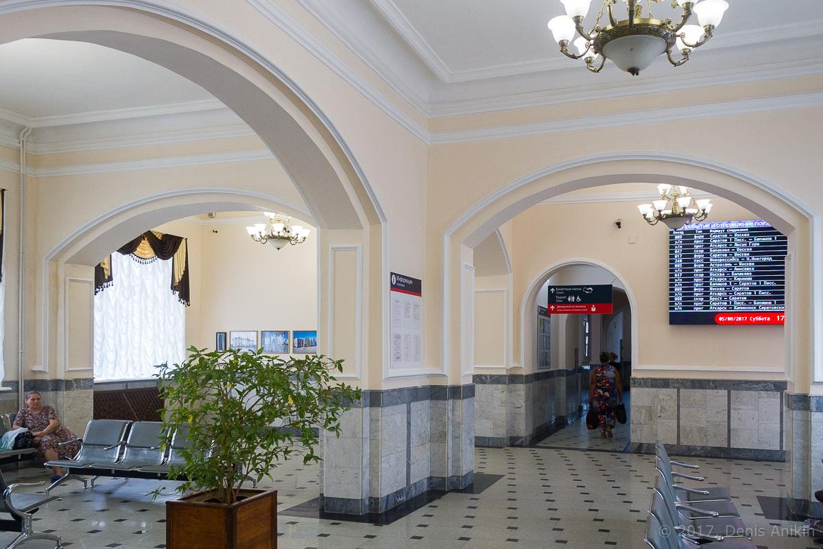 Железнодорожный вокзал Аткарск фото 10