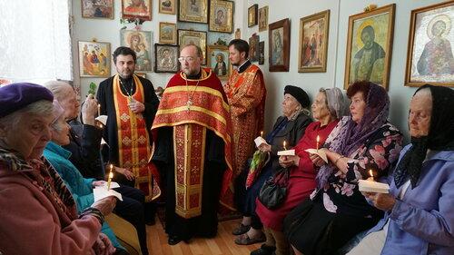 Часовня св. вмч. Георгия Победоносца в Доме ветеранов войны № 2