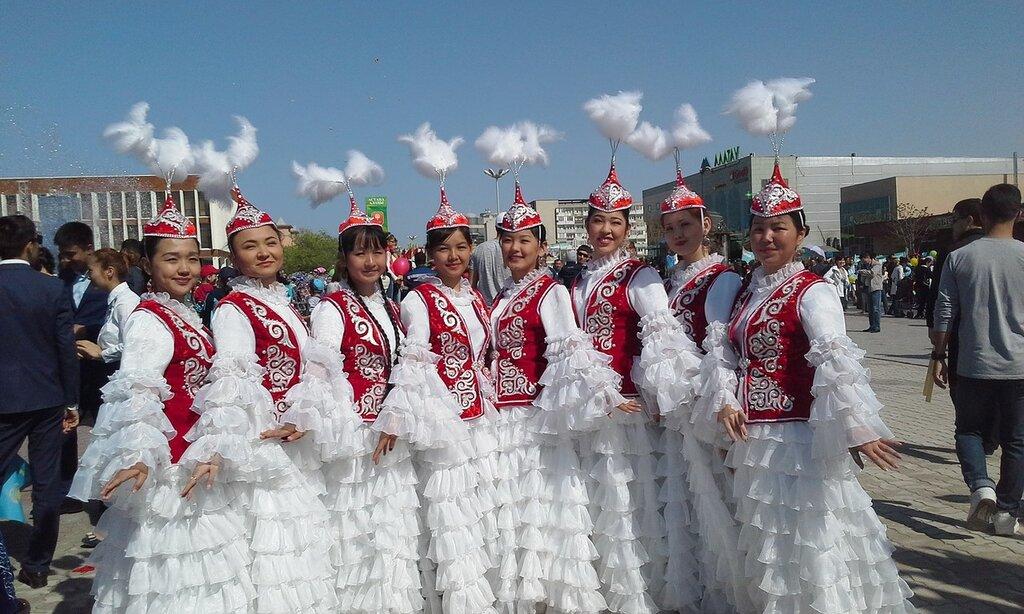 красавицы казахстана