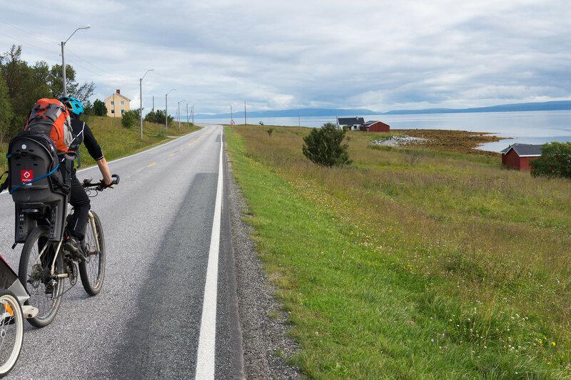 на велосипеде через kistrand