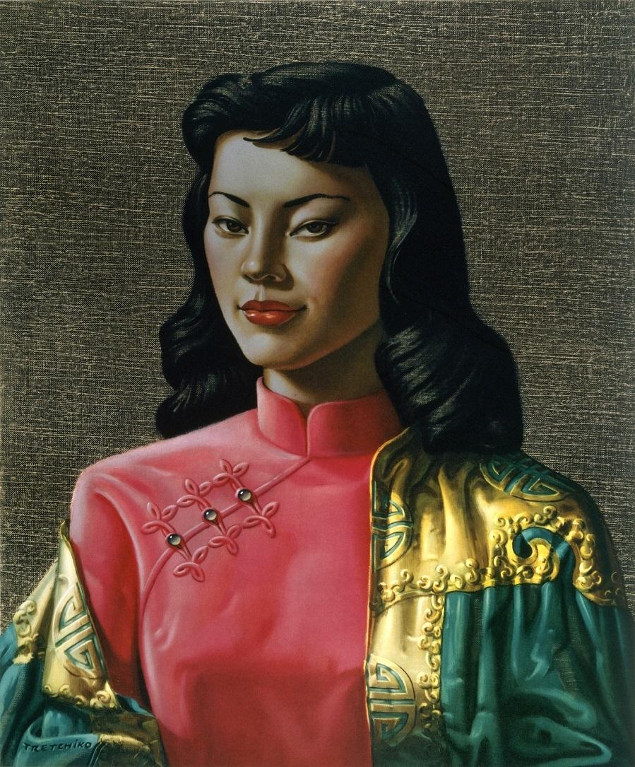 1950-е Мисс Вонг (Miss Wong) Частное собрание.