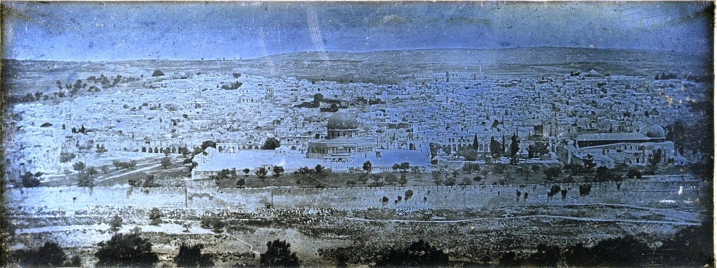 Иерусалим. Панорама города с Масличной горы