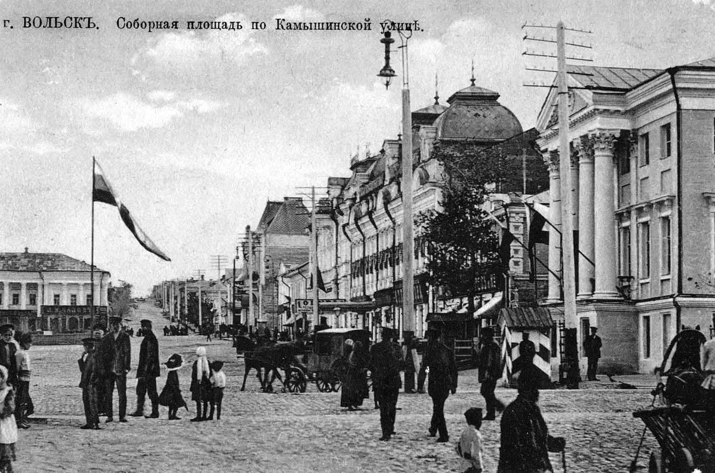 Соборная площадь по Камышинской улице
