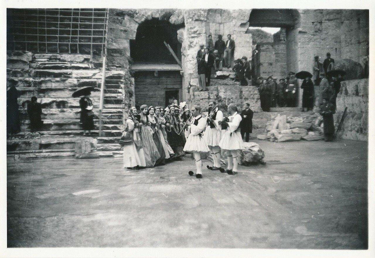 1935. Афины. Одеон Герода Аттика