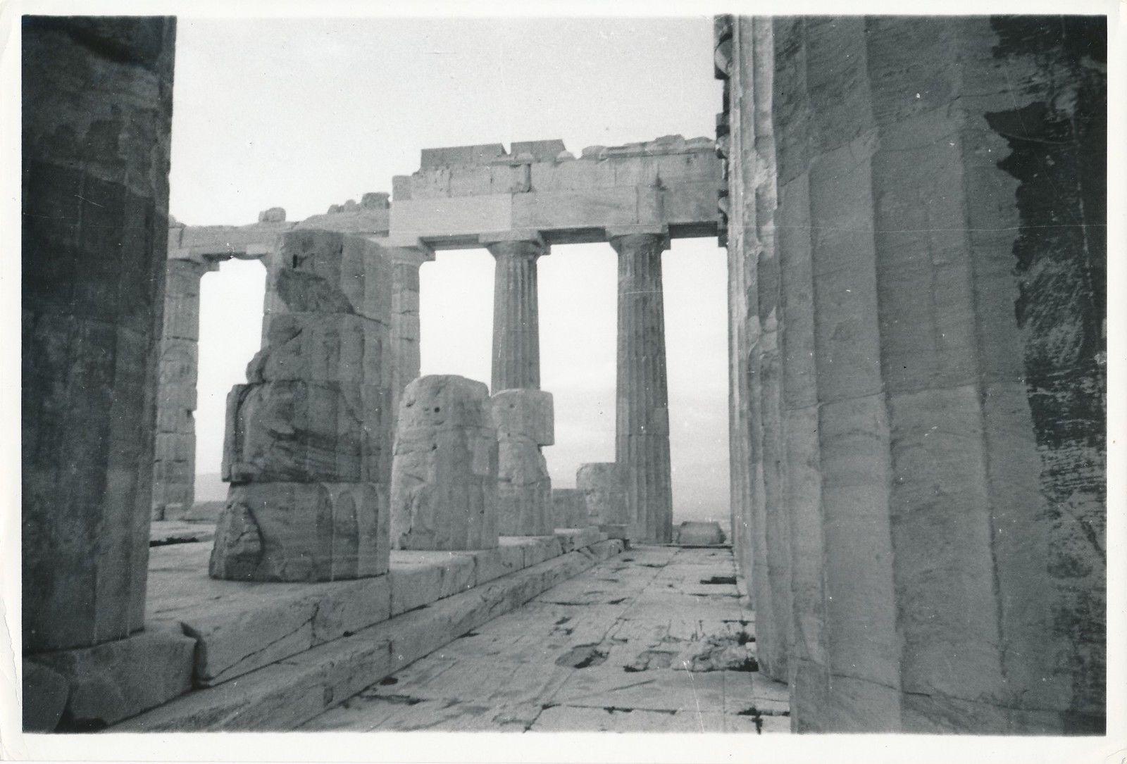 1950. Афины. Храм Эрехтейон