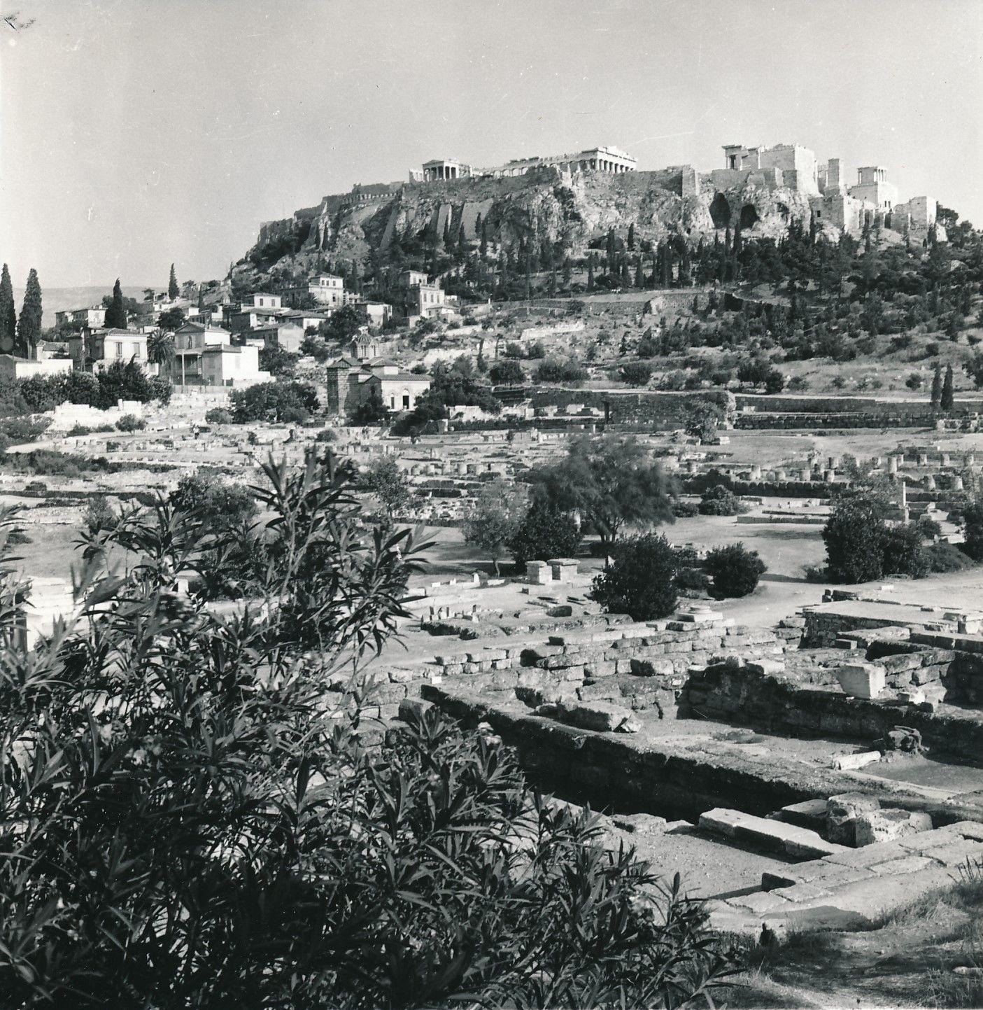 1960. Афины. Акрополь