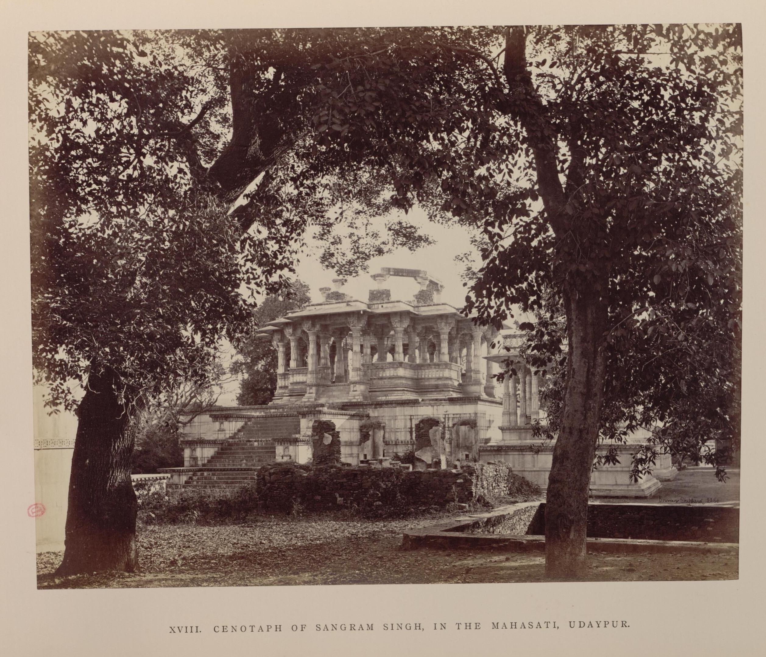 Удайпур. Кенотаф махараджи Санграма Сингха