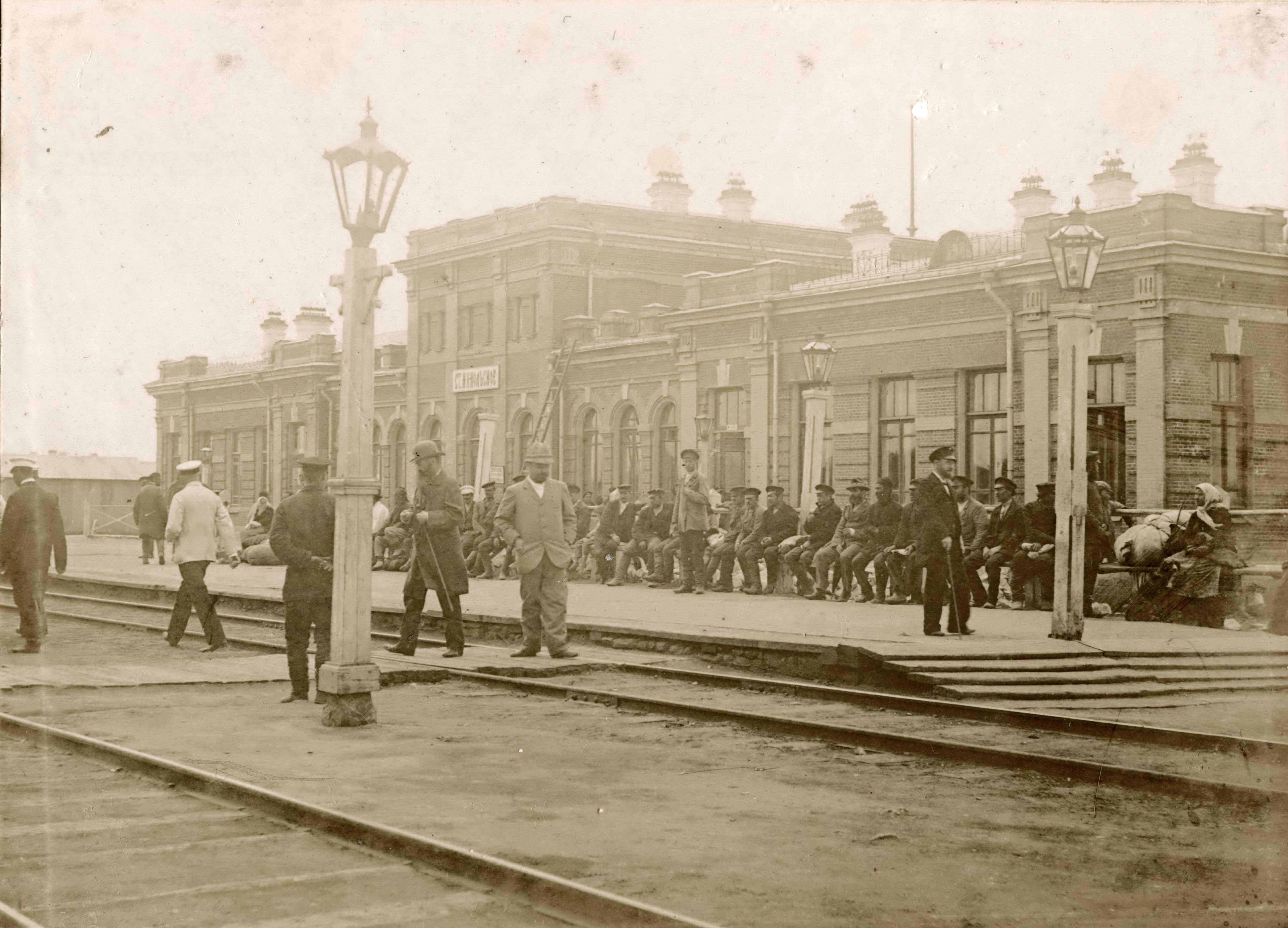 14. Станция Никольское