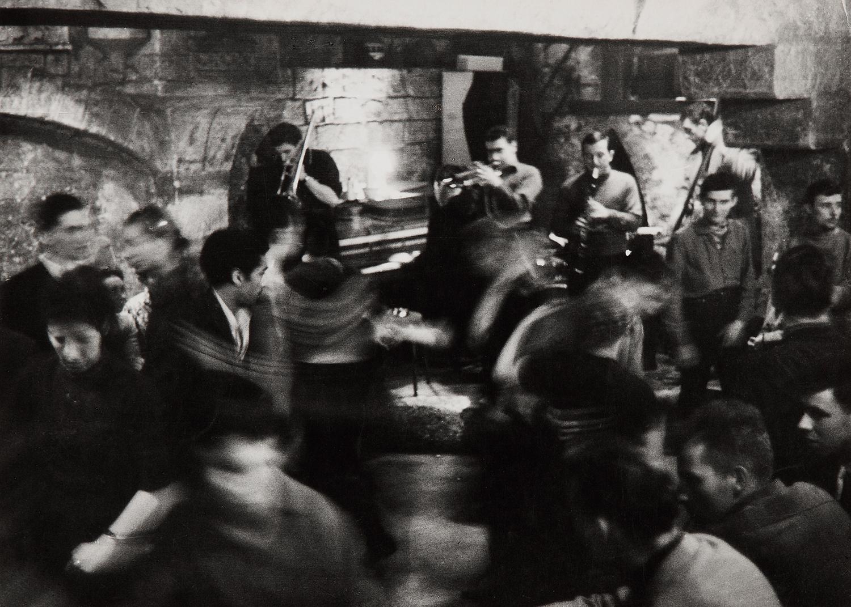 1957. Джаз-клуб «Le Caveau de la Huchette»