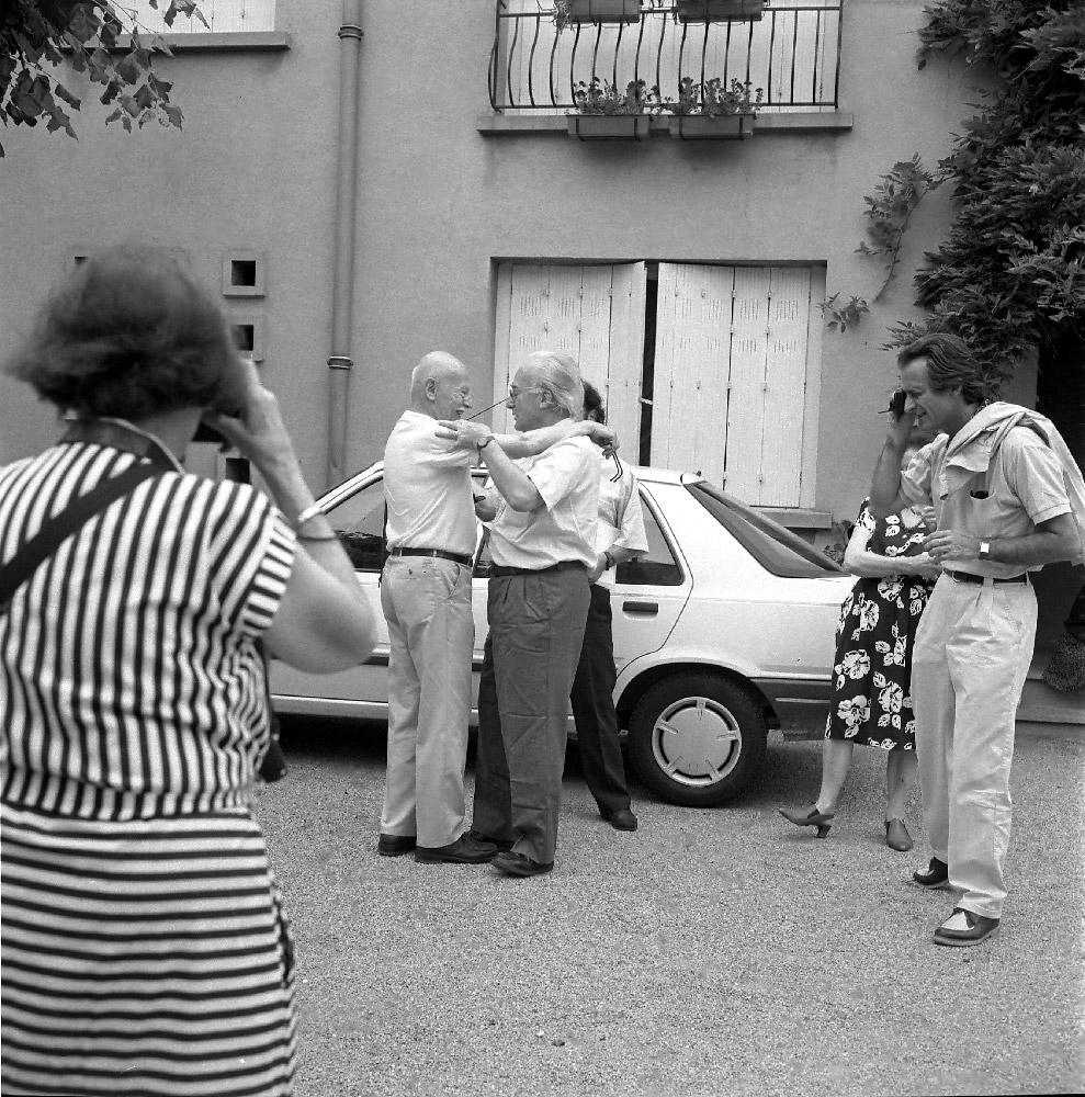 Жан Дисайд и Вилли Рони