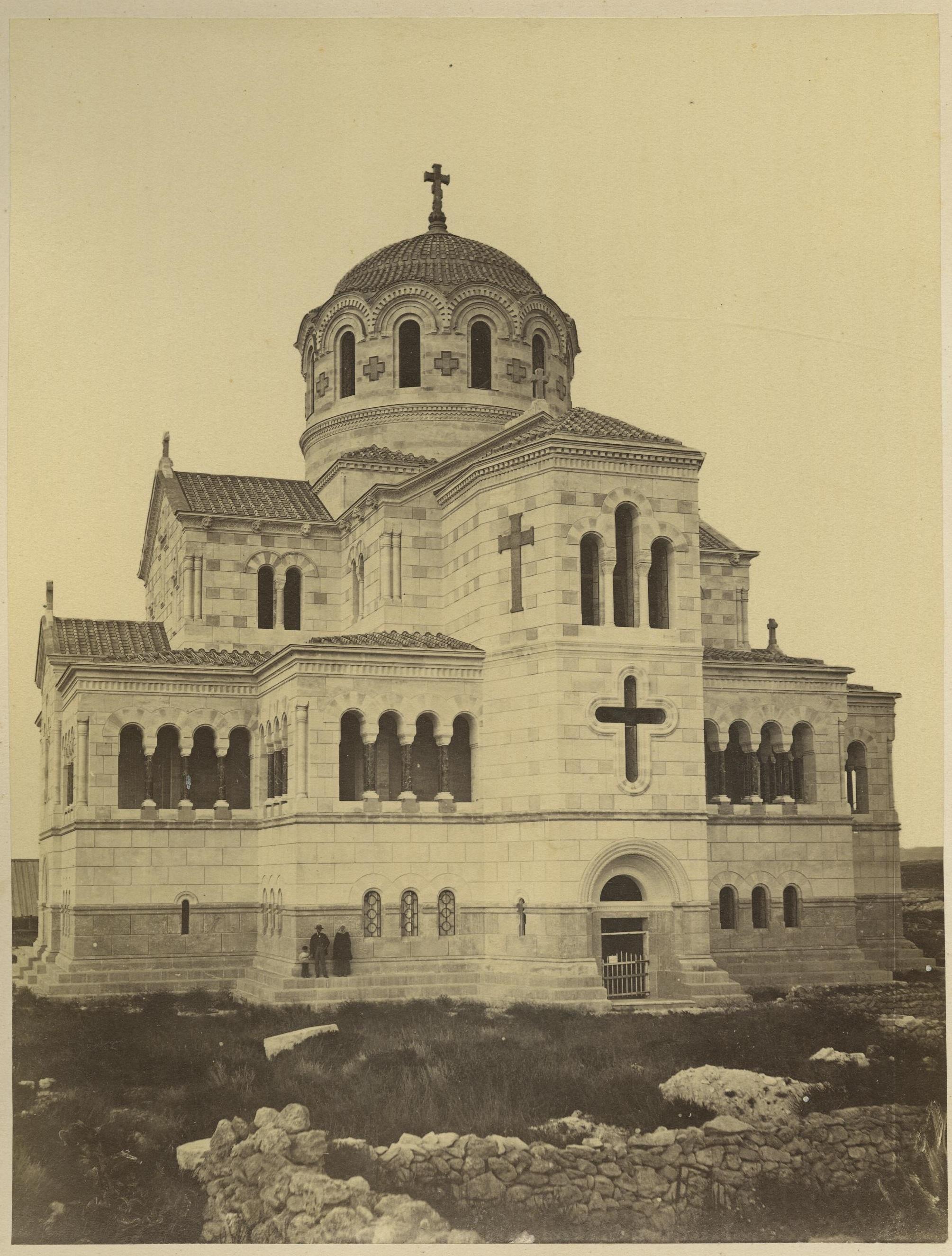 Храм св. кн. Владимира на месте его крещения в Херсонесе