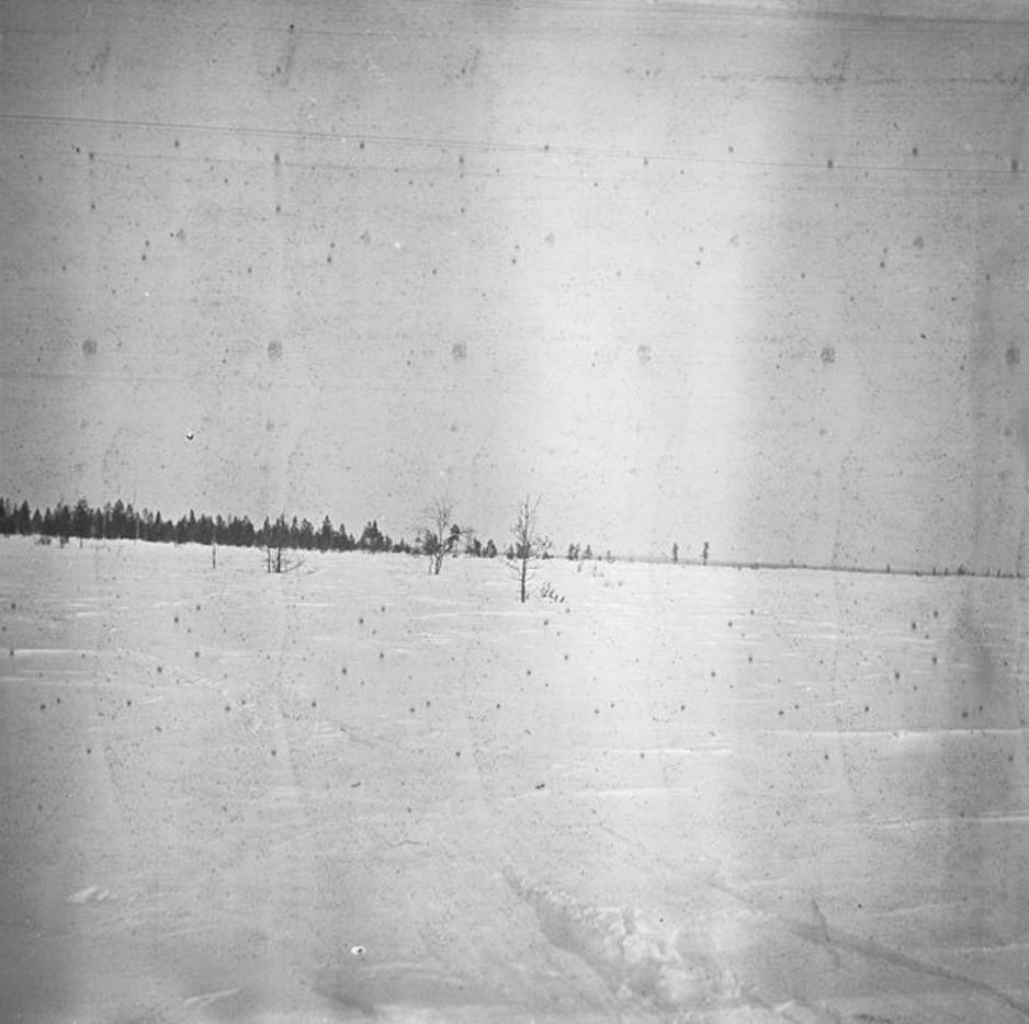 97. Заснеженная арктическая тундра