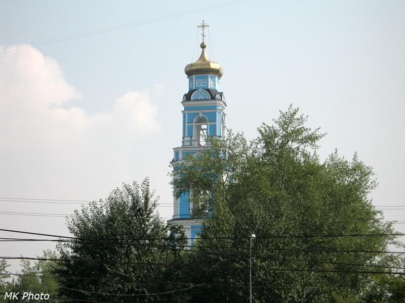 Колокольня храма в честь Вознесения Господня