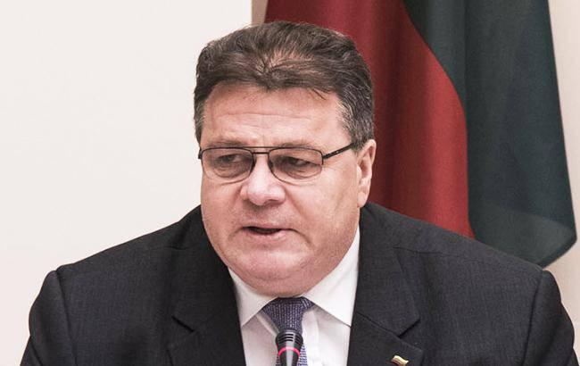 Литва рассмотрит ужесточение рекомендаций по сотрудничеству с РФ, - Линкявичюс