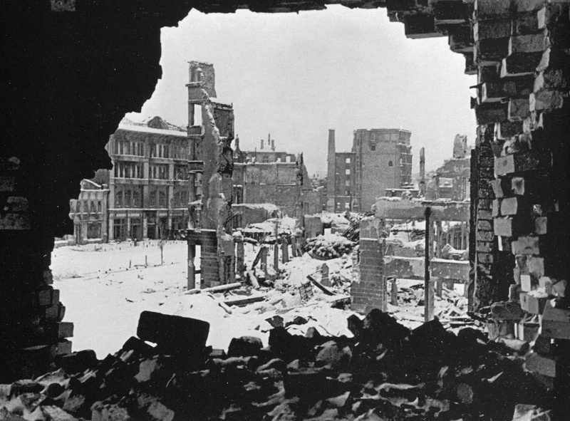 Сталинградская битва: Сталинград после сражений