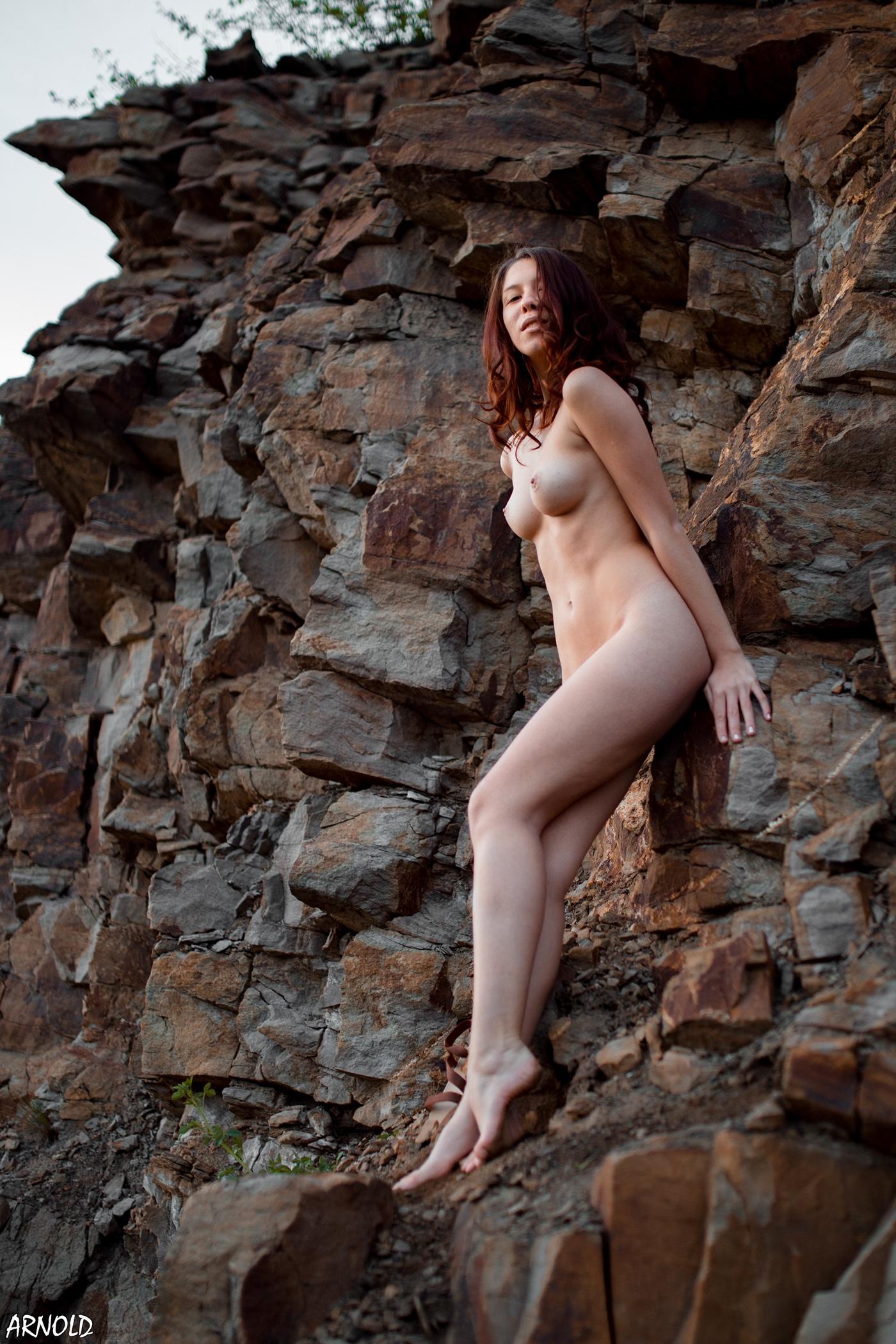 Девушка на природе / фото Arnold