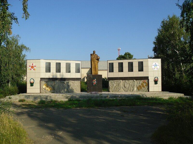 Село Нововознесенка, памятник погибшим односельчанам.