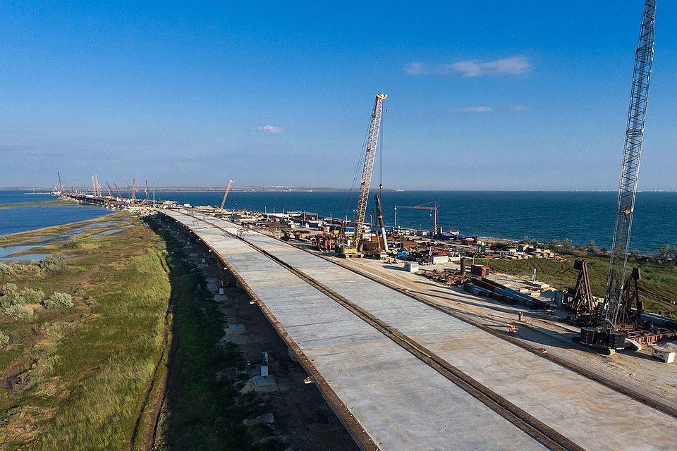 Керченский мост построили более чем наполовину— Экватор пройден
