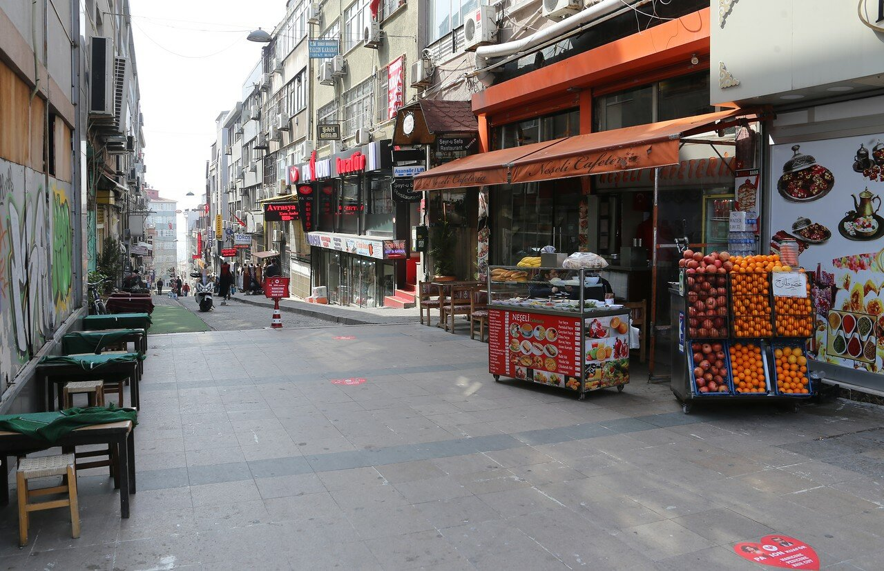 Стамбул. Площадь Цемберлиташ (Cemberlitas Meydani)