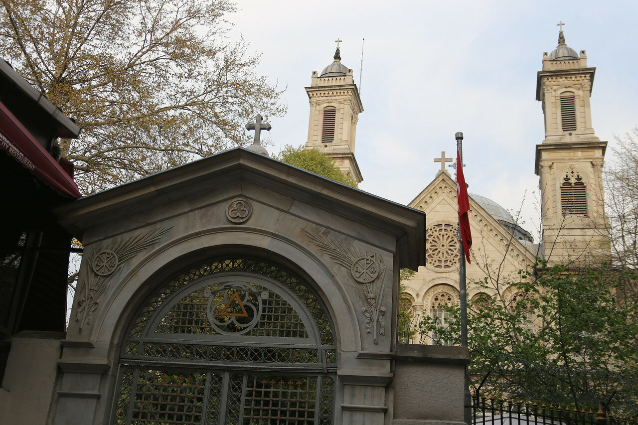 Istanbul.  Holy Trinity Orthodox Church (Aya Triada Rum Ortodoks Kilisesi)