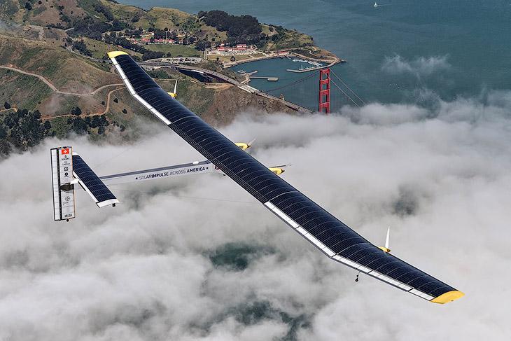 Будущее авиации: «Солнечный импульс» (28 фото)