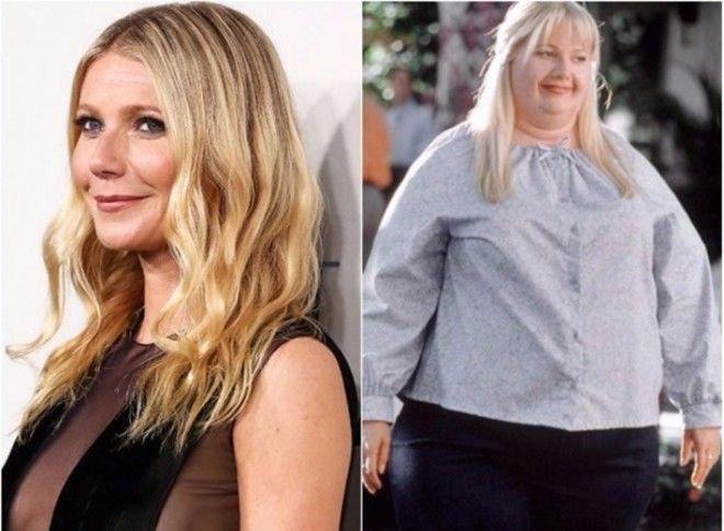 К счастью, Гвинет не пришлось набирать десятки килограммов, чтобы сыграть толстушку Розмари: актриса