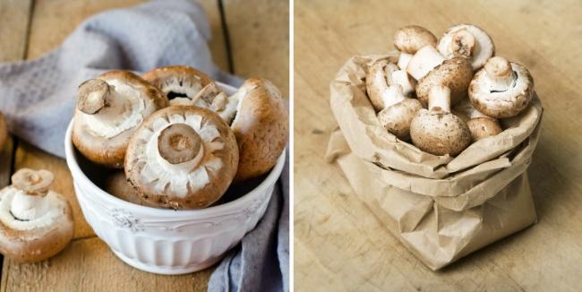 © Depositphotos  Лучший вариант— молодые грибы. Очистите ихотпочвы, промойте, нонедолго: м