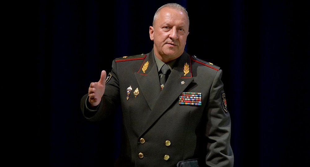 Начальник генерального штаба Вооруженных сил — первый заместитель министра обороны РБ Олег Белоконев