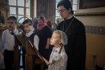 Воспитанники Образовательного центра приняли участие в архиерейском богослужении