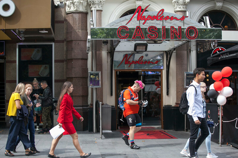 Napoleons Casino and Restaurant on Leicester Square. It has been in operation for over 25 years, and it boasts of being the West End's original casino.