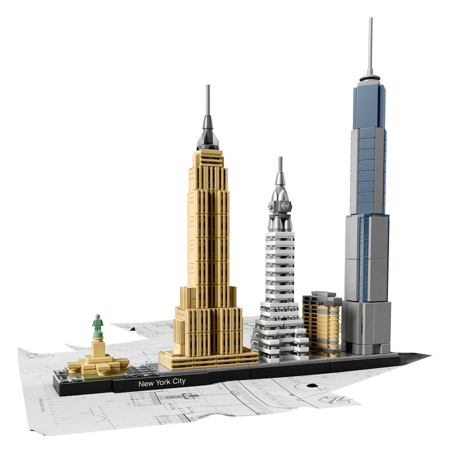 Cities Skylines in a LEGO Kit